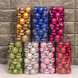 24PCS/Set Christmas Tree Decorative Balls