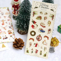 Christmas Adhesive Stickers for DIY Decoration