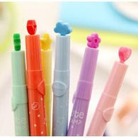 12pcs/lot Various Shapes Colorful Candy Color Highlighters