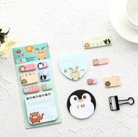 Wonderful Animal Cartoon Self-Adhesive N Times Memo Pad