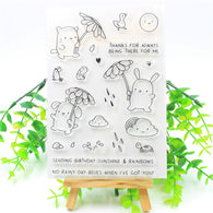 Sunshine Transparent Clear Silicone Stamp