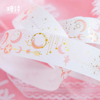 Gilding Young Star Moon Washi Tape