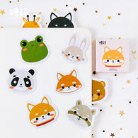 Cute Animal Big Head Decorative Stickers