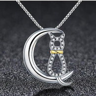 Cat's Dream 925 Sterling Silver Necklaces
