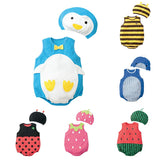 Cute Baby Clothes Infant Jumpsuit+Hat Set