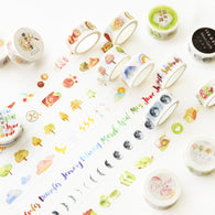 2 cm Wide Mini Life Thing Washi Tape