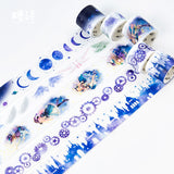 Little Witch Magic Castle Washi Tape