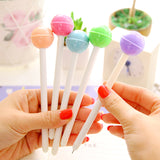 6Pcs/set Cute Lolipop Color Gel Pen