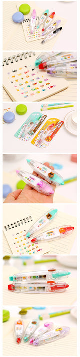 Kawaii Animals Press Type Decorative Tape