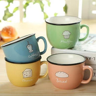 Cute Animal Candy Color Ceramic Mug
