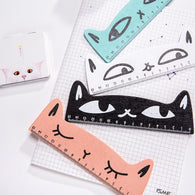Cat wooden ruler