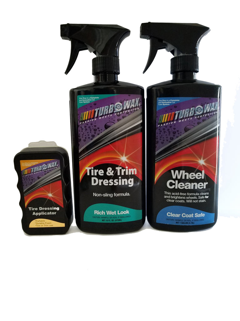 Turbo Wax Wheel  and Tire  Kit - Turbo Wax Products
