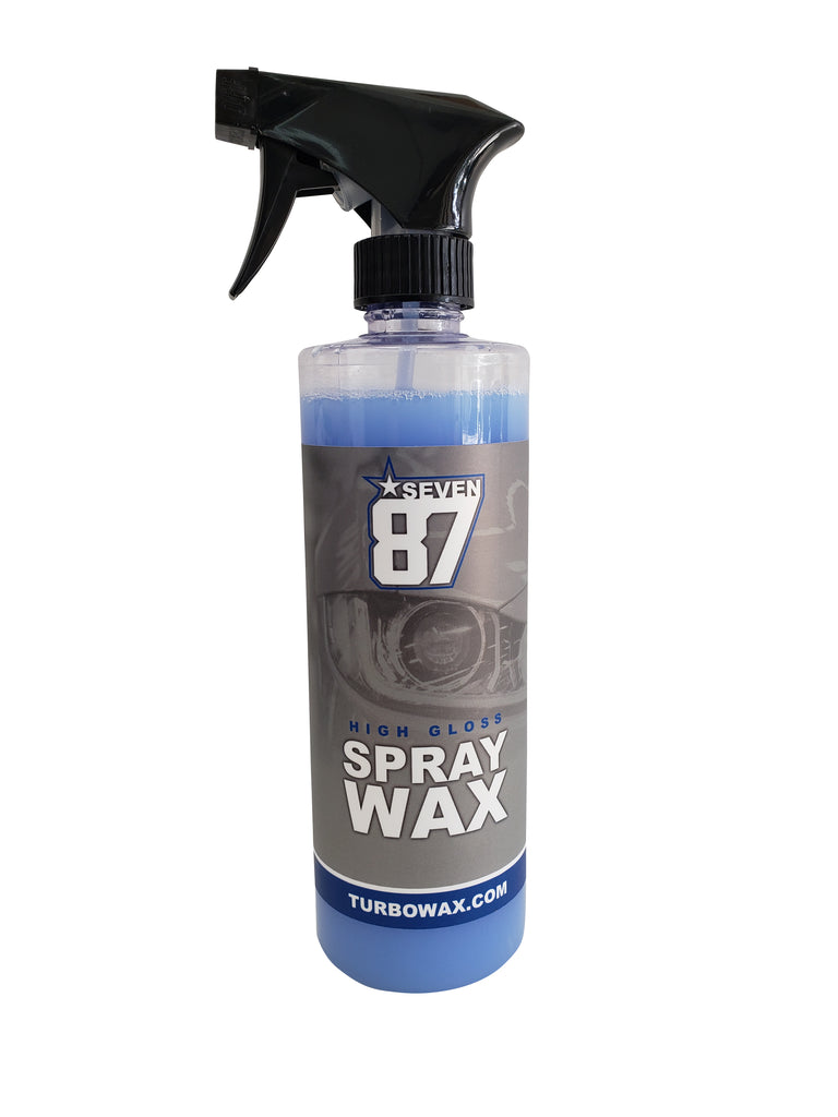 Turbo Wax Seven 8 7 Spray Wax - Turbo Wax Products