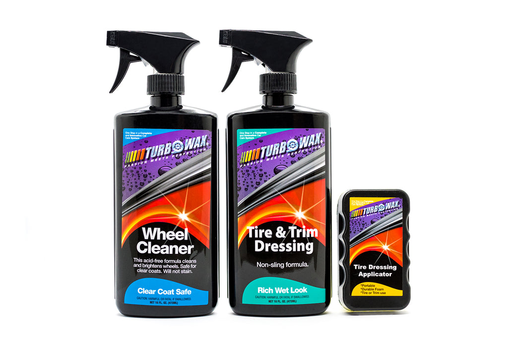 Turbo Wax Wheel Detailing Kit - Turbo Wax Products