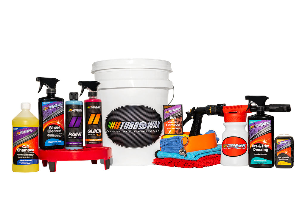 "Turbo Wax Detailing Bucket - ""No Mystery Bucket from US!"" - Turbo Wax Products"