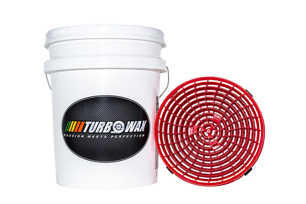 Turbo Wax Wash Bucket and Turbo Wax Dirt Lock Kit - Turbo Wax Products
