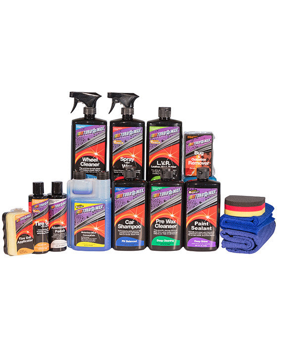 Turbo Wax Detailing Kit 3 - Turbo Wax Products