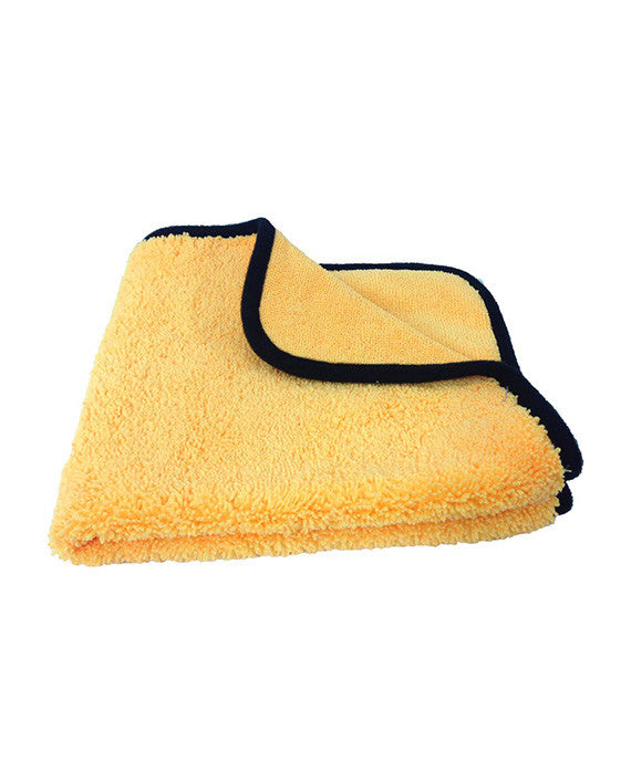 16″ X 16″ Turbo Wax Ultra Plush Towel With Silk Banding - Turbo Wax Products