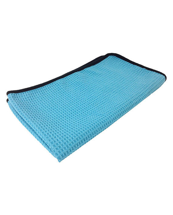 16″ X 27″ Turbo Wax Premium Thick Microfiber Waffle Drying Towel