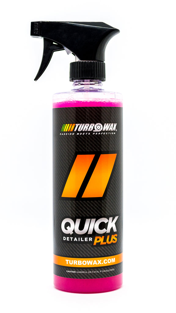 Turbo Wax Quick Detailer Plus - Turbo Wax Products