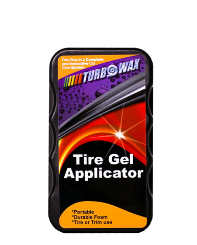 Turbo Wax Tire Gel Applicator - Turbo Wax Products