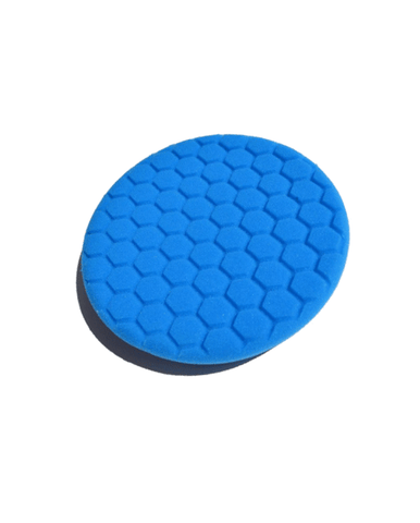 Turbo Centering Foam Blue Buffing Pad 7.5""