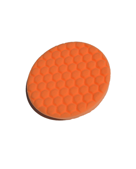 Turbo Centering Foam Orange Buffing Pad 7.5″ - Turbo Wax Products