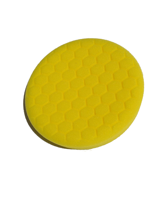 Turbo Centering Foam Yellow Buffing Pad 7.5″ - Turbo Wax Products