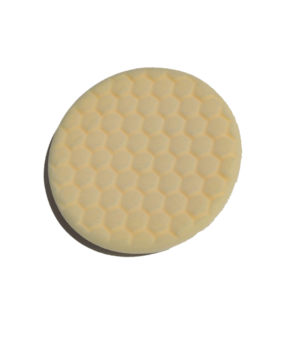 Turbo Centering Foam White Buffing Pad 7.5″