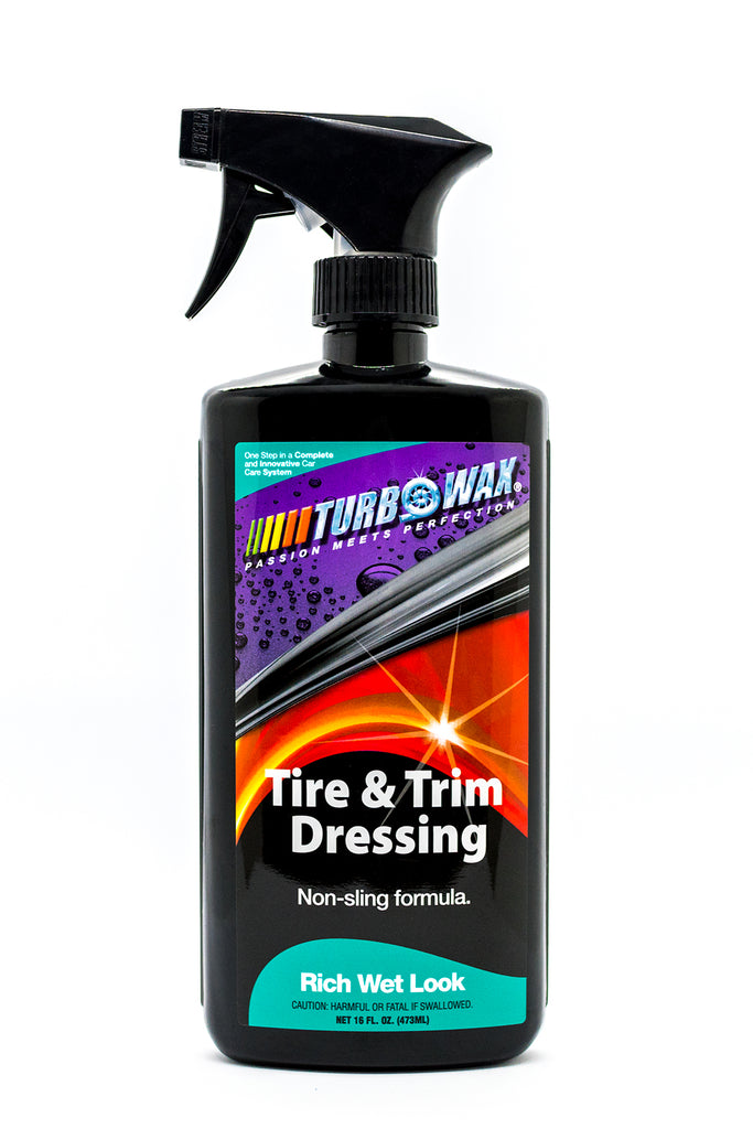 Turbo Wax Tire &  Trim Dressing - Turbo Wax Products