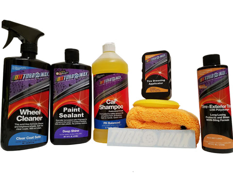 Turbo Wax Show Shine Kit - Turbo Wax Products