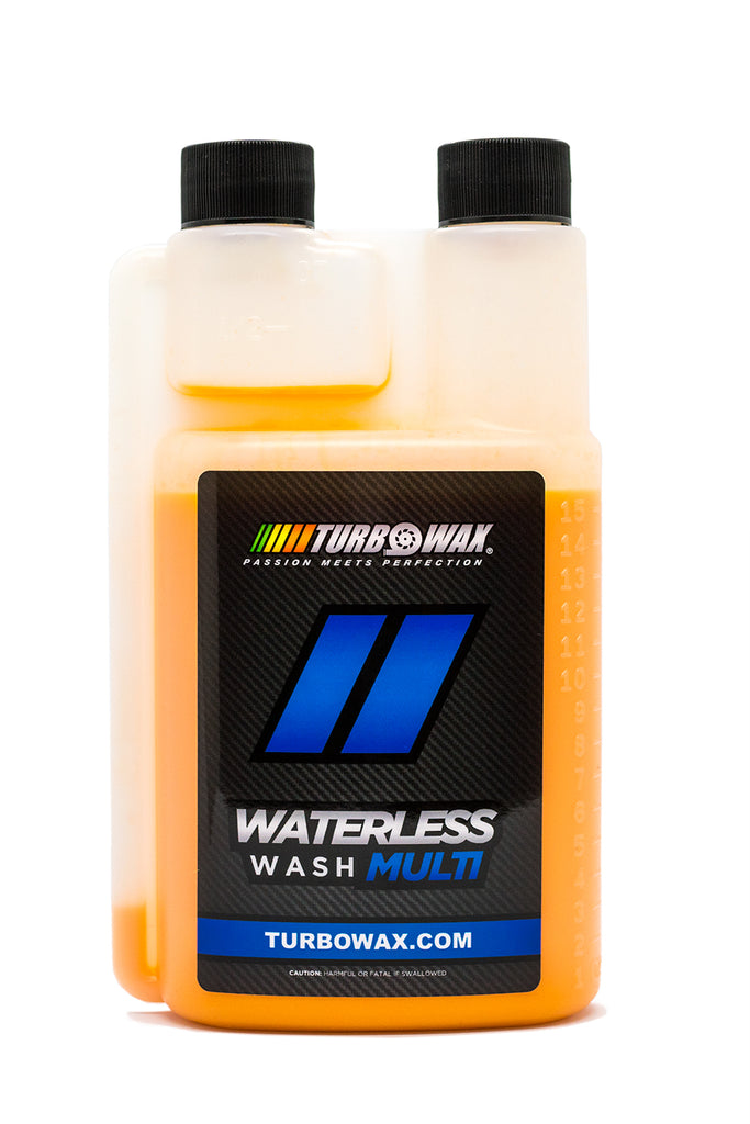 Turbo Wax Waterless Wash - Turbo Wax Products