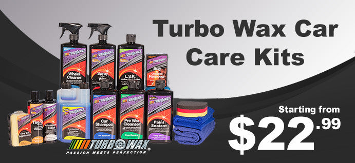 Turbo Wax Car Care Kits