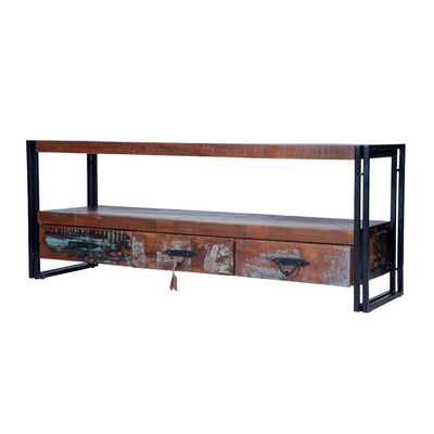 Right side view of Industrial TV Stand