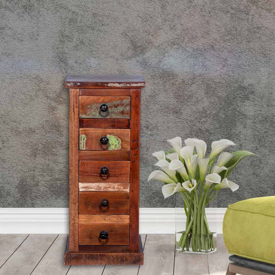 "Maadze 5-Drawer Lingerie Chest ""Unicorn"""