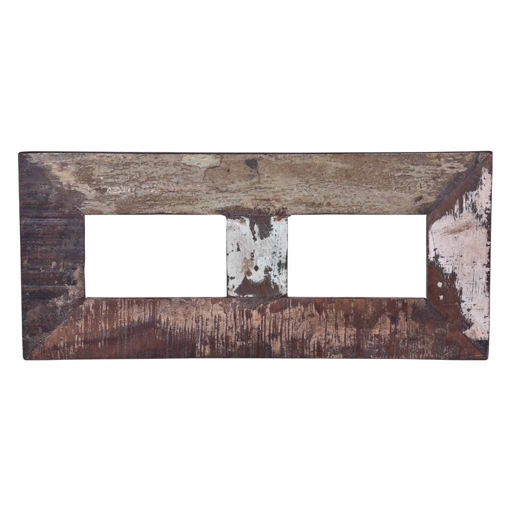 Maadze Rustic Wooden 2-Picture Photo Frame - Maadze