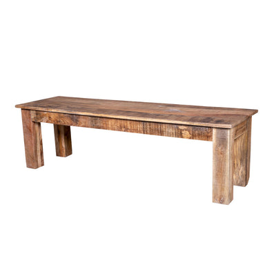 Maadze Natural Raw Dining Bench - Maadze