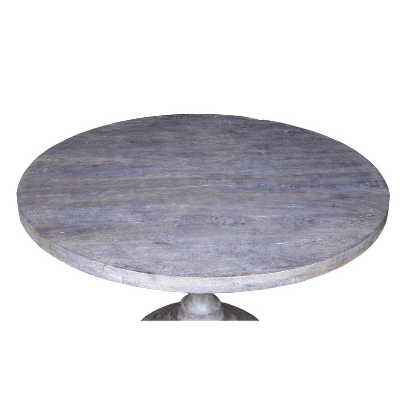 Round Dining Table - White - Maadze