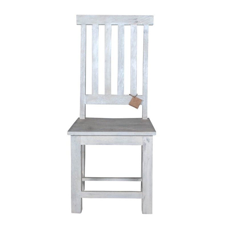 Maadze Set of 2 White Solid Wood Chair - Maadze