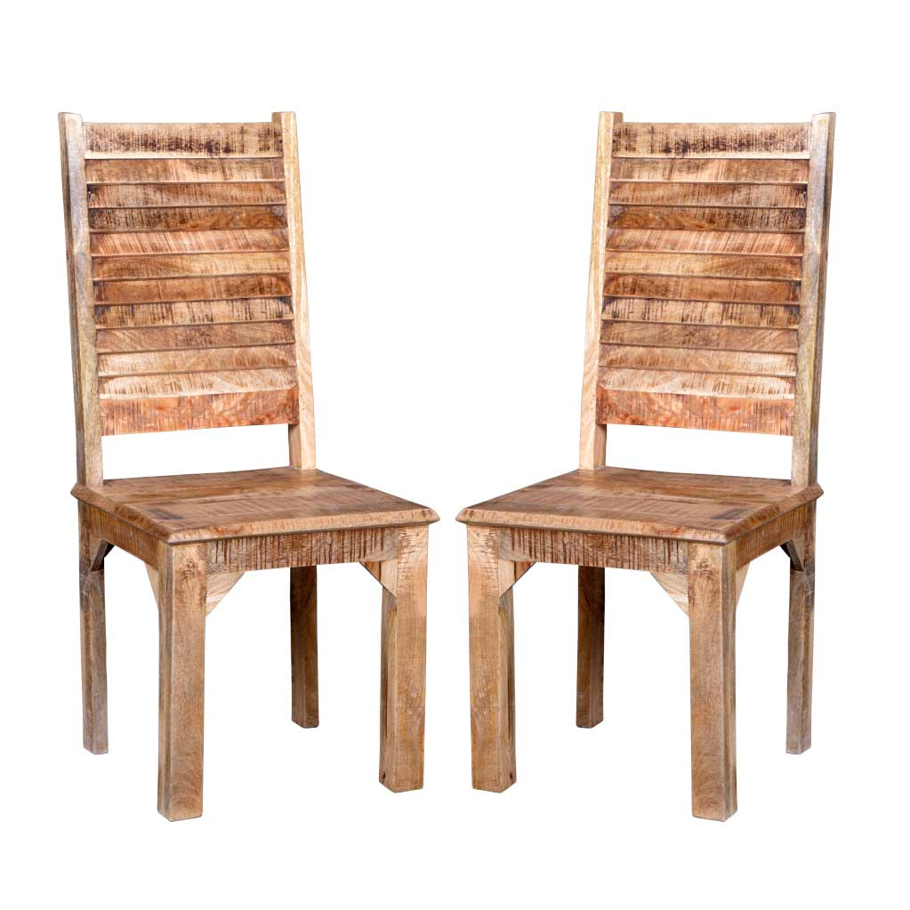 Maadze Set of 2 Rustic Chair - Maadze