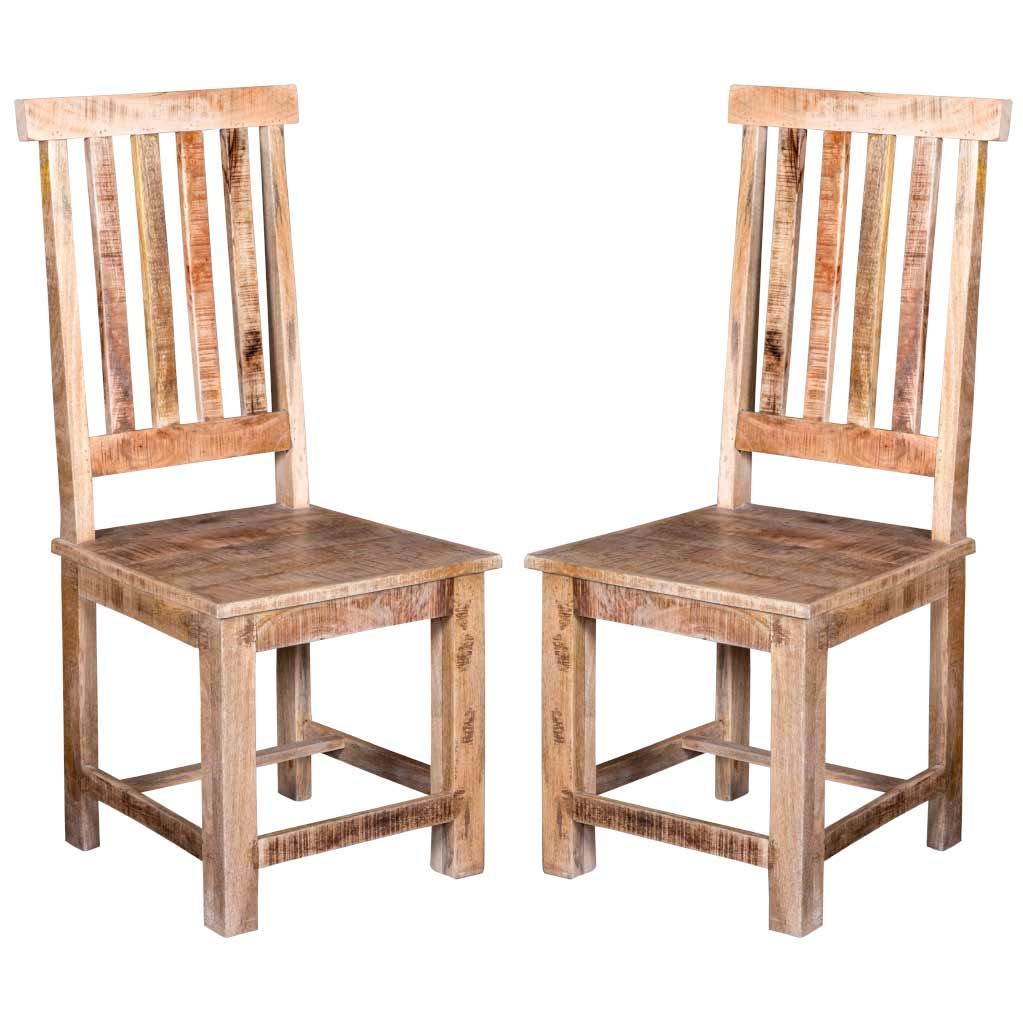 Maadze Set of 2 Solid Wood Chair - Maadze