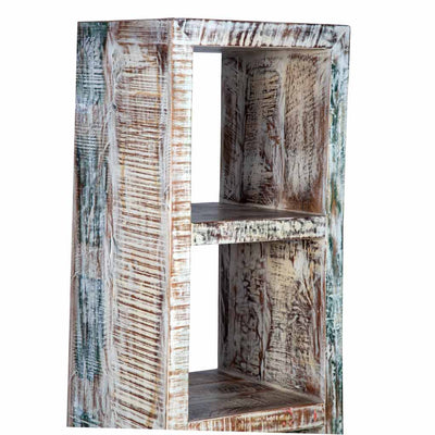 Maadze Whitewashed Cube Storage Unit | Bookcase - Maadze