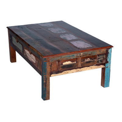 Maadze Rustic Coffee Table with storage - Maadze