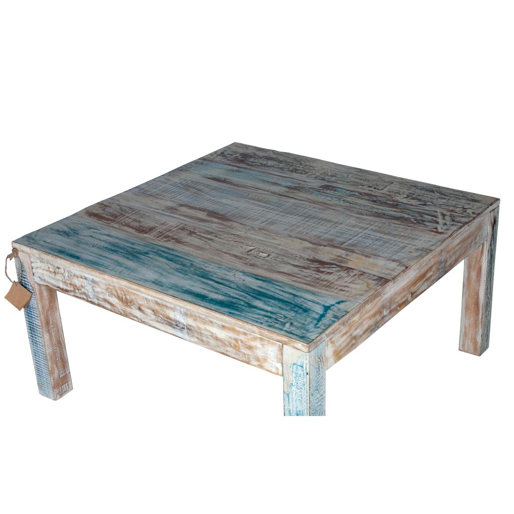 "Maadze White Square coffee table ""Winter"" - Maadze"
