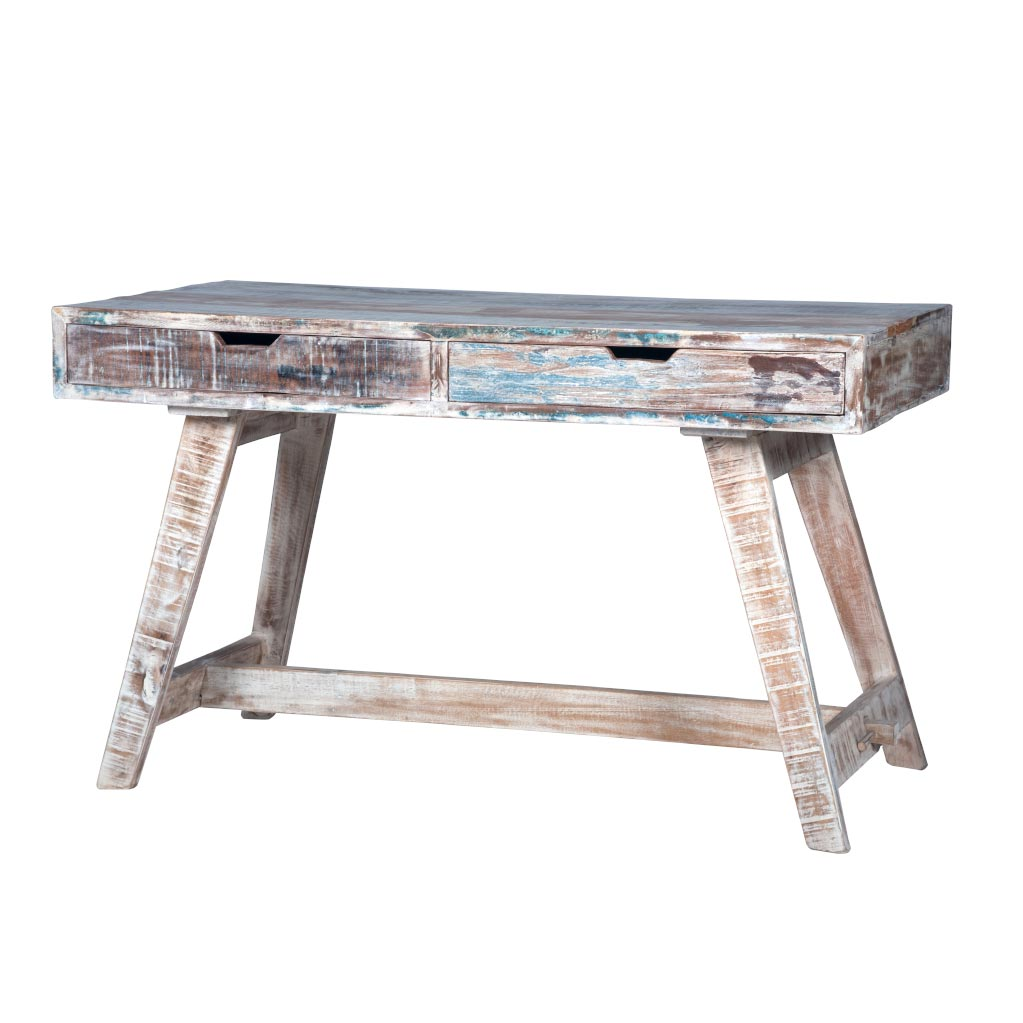 Maadze White Writing Desk - Maadze