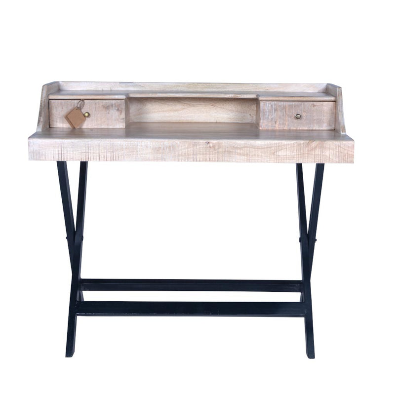 "Maadze White Writing Desk ""Frolic"""