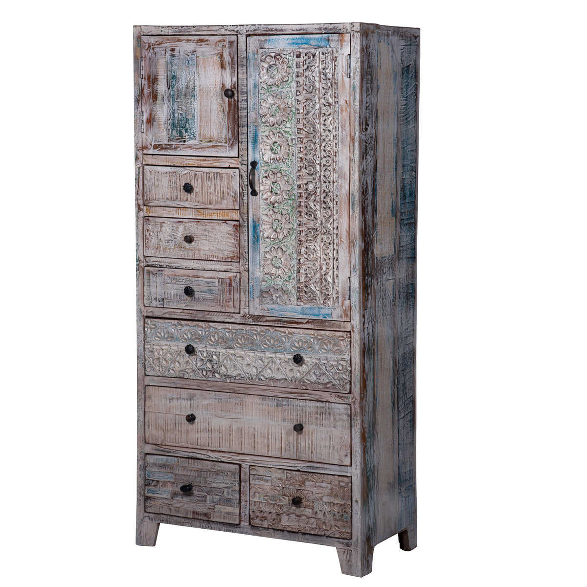"Armoire with Drawers ""Winter"" - Maadze"