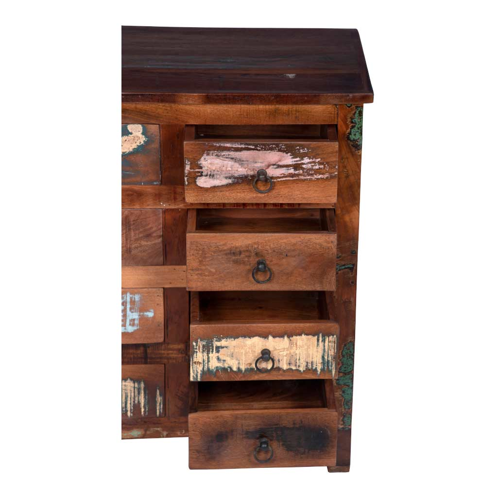 Maadze Rustic 8-Drawer Chest - Maadze