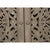 Carved Sideboard Buffet | Smoke Gray Finish