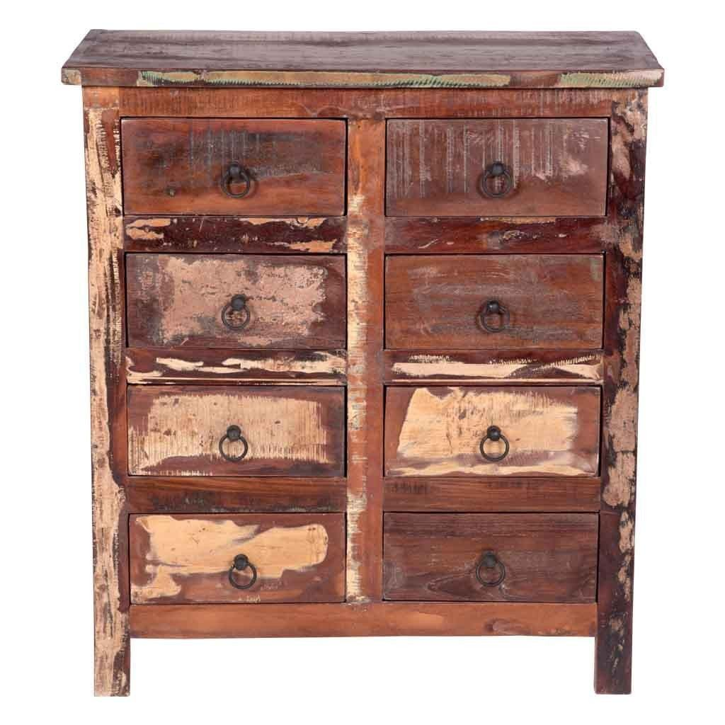 Maadze reclaimed wood 8-Drawer Dresser